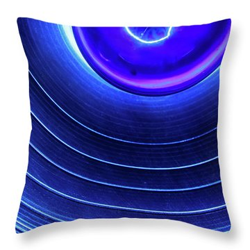 Throw Pillow featuring the photograph Stage Light by KG Thienemann