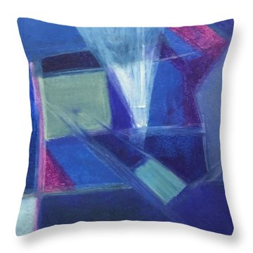 Stage Lights Throw Pillow