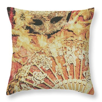 Stage Of Venice Throw Pillow