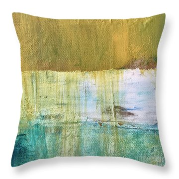 Stages Throw Pillow