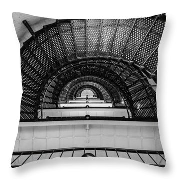 Stair Master Throw Pillow