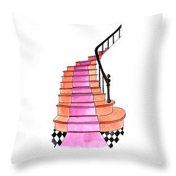 Staircase Throw Pillow