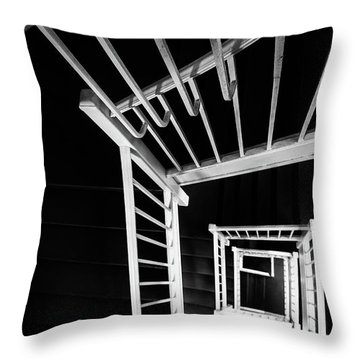 Staircase I Throw Pillow