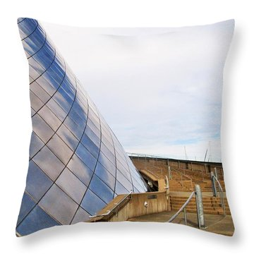 Staircase  Throw Pillow by Martin Cline