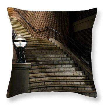 Staircase On The Blvd. Throw Pillow