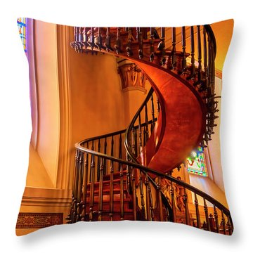 Staircase To Heaven Throw Pillow