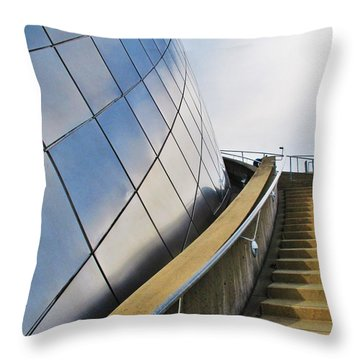 Staircase To Sky Throw Pillow by Martin Cline