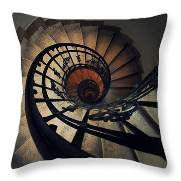 Stairs Throw Pillows