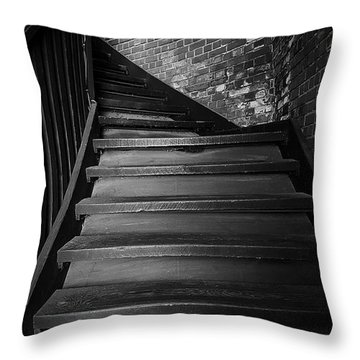 Stairway Throw Pillow by Ester  Rogers