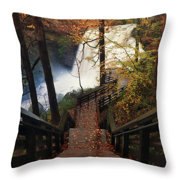 Stairway To Brandywine Throw Pillow