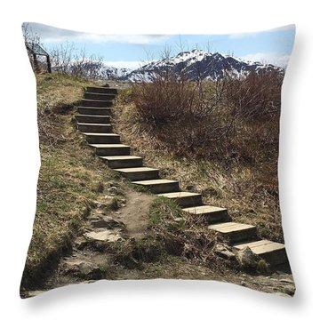 Stairway To Heaven II Throw Pillow
