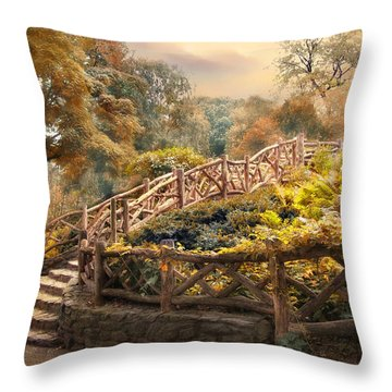Stairway To Heaven Throw Pillow by Jessica Jenney