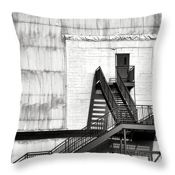 Stairway To Less Than Heaven  Throw Pillow