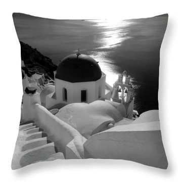 Stairway To The Church Throw Pillow