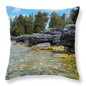 Stalwart Shore Throw Pillow