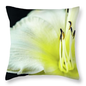 Stamen At Attention Throw Pillow