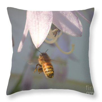 Stamen Attraction 2 Throw Pillow