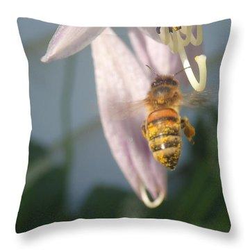 Stamen Attraction Throw Pillow