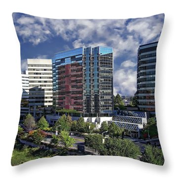 Stamford City Center Throw Pillow