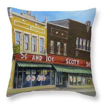 Stand Again Throw Pillow