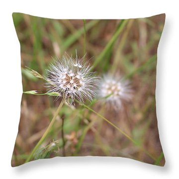 Throw Pillow featuring the photograph Stand Back by Marie Neder