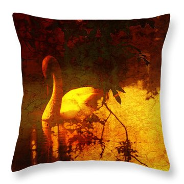 Stand By  Me  Throw Pillow by Andrew Hunter
