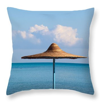 Throw Pillow featuring the photograph Stand By Me by Jez C Self