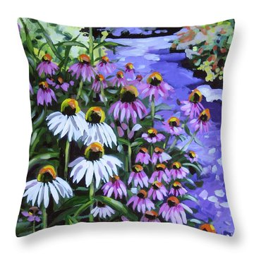 Stand Out In A Crowd Throw Pillow