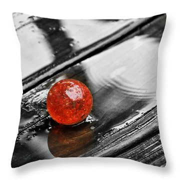 Stand Out Throw Pillow by Melody McBride