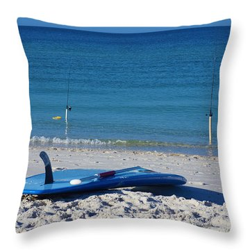 Stand Up Paddle Board Throw Pillow