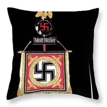 Standard Of The Leibstandarte Adolf Hitler Circa 1935  Throw Pillow