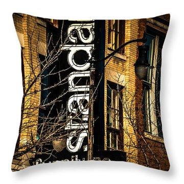 Standard Throw Pillow by Phillip Burrow