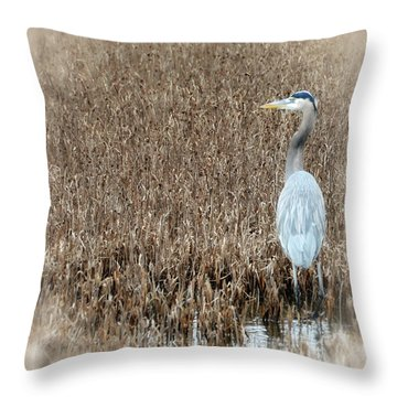 Standing Alone Throw Pillow by Tamera James