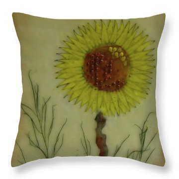 Standing At Attention Throw Pillow by Terry Honstead