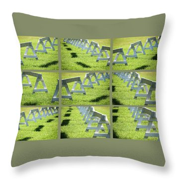Standing By -  Throw Pillow