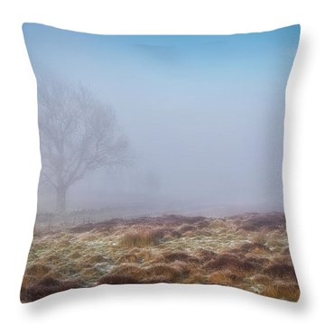 Throw Pillow featuring the photograph Standing Fiercely by Jeremy Lavender Photography