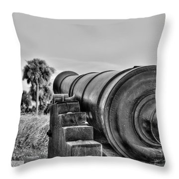 Standing Ground Throw Pillow