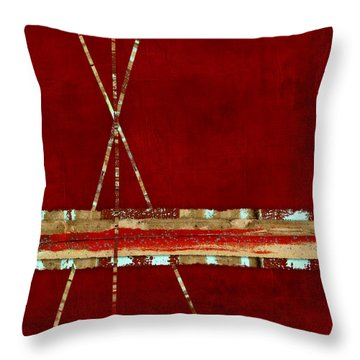 Throw Pillow featuring the photograph Standing Ground by Carol Leigh