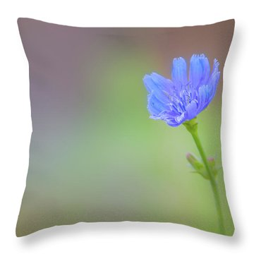 Standing In The Breeze Throw Pillow