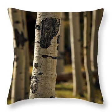 Standing Out Amongst The Others Throw Pillow