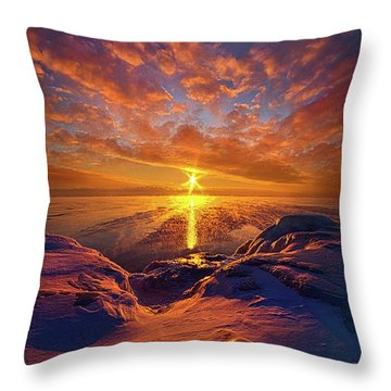 Throw Pillow featuring the photograph Standing Stilled by Phil Koch