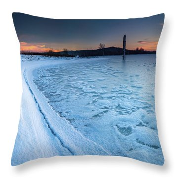 Standing Straight Forever Throw Pillow