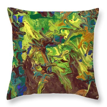 Standing Strong Against The Wind Throw Pillow