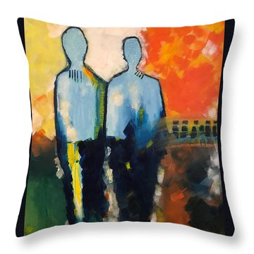 Standing Strong  Throw Pillow
