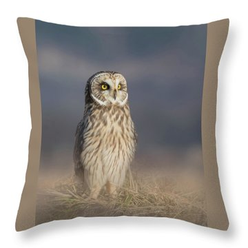 Throw Pillow featuring the photograph Standing Tall by Angie Vogel