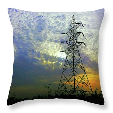 Standing Tall Throw Pillow