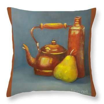 Standing Tall Throw Pillow by Genevieve Brown