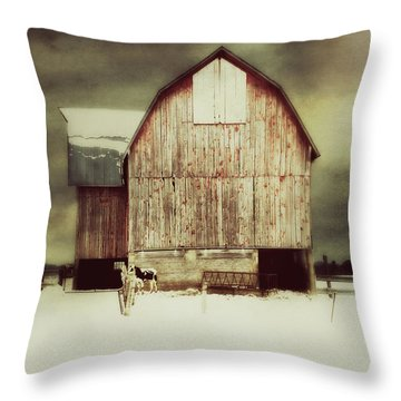 Throw Pillow featuring the photograph Standing Tall by Julie Hamilton