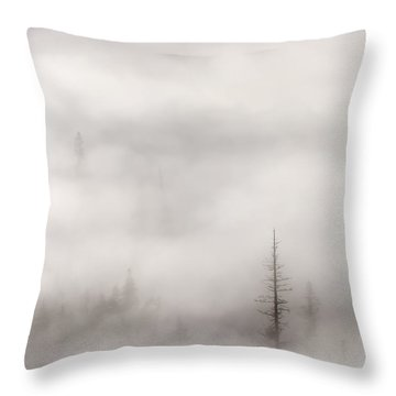 Standing Tall Throw Pillow by Mike  Dawson