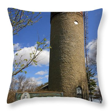 Throw Pillow featuring the photograph Standing Tall  by Viviana  Nadowski